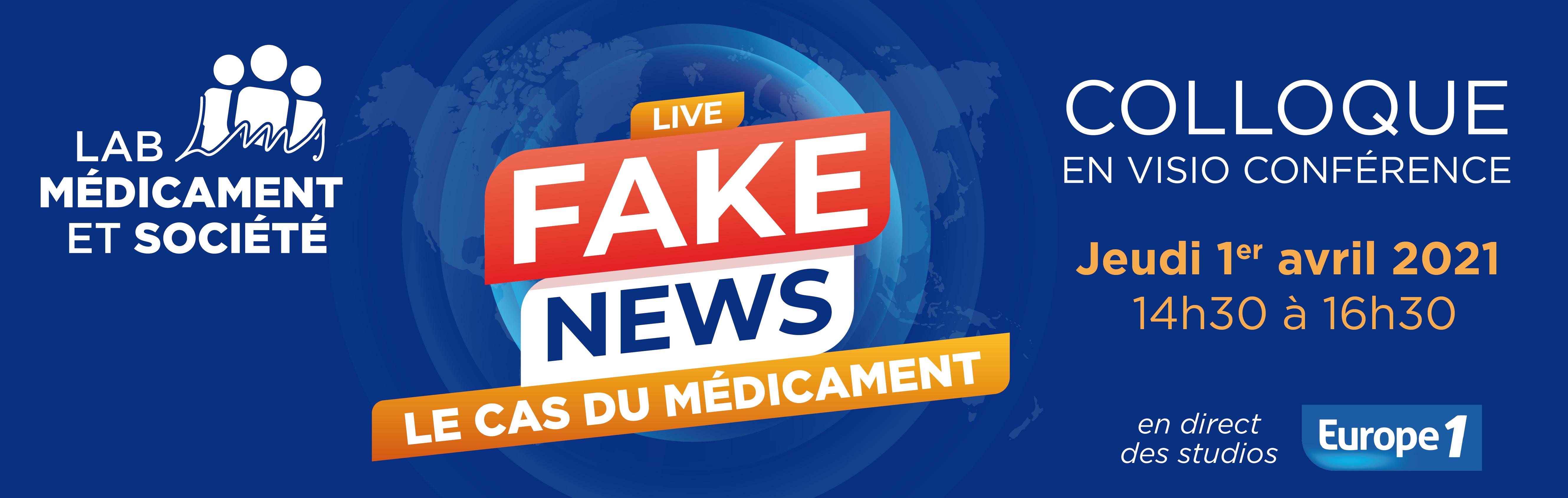 Les Fake News nuisent gravement à la santé