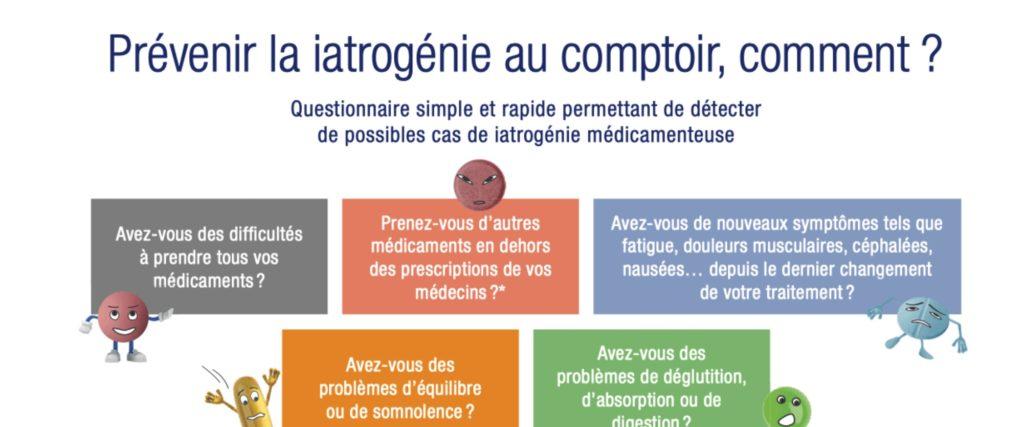 Document Pharmacien sur la Iatrogénie Médicamenteuse